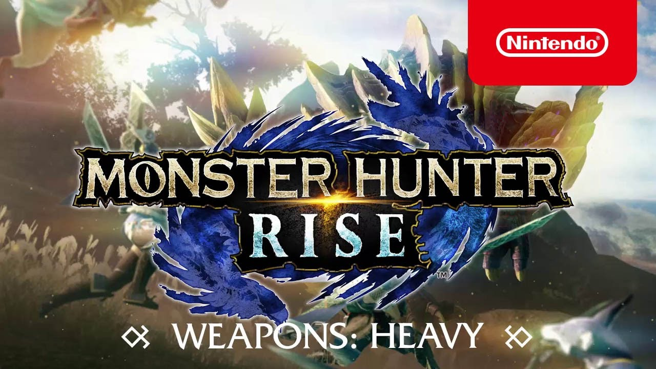 MONSTER HUNTER RISE – Heavy weapons (Nintendo Switch)