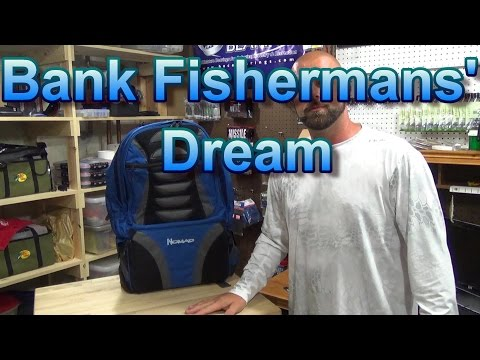 Okuma Nomad Back Pack | A Bank Fishermans' Dream
