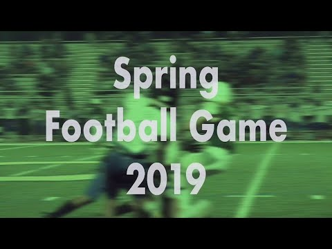 Ola High School Spring Football Game 2019