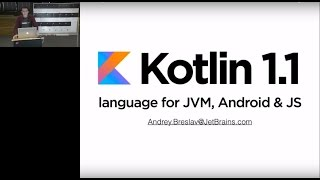 Kotlin 1.1 demo-presentation. Andrey Breslav
