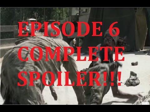The Walking Dead Season 7 - EPISODE 6  - SWEAR - COMPLETE SPOILER!!!