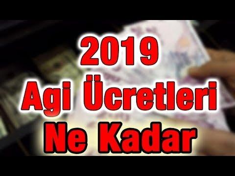 AGİ 2019 Ne Kadar - Asgari Ücret Ne Kadar 2019