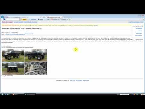 Craigslist Cars Athens Georgia Youtube