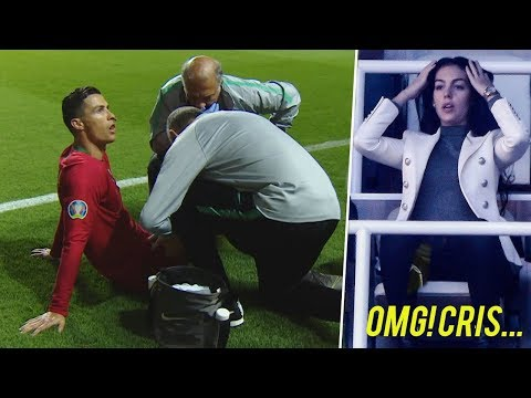 Cristiano Ronaldo Moments After Which it is Not Possible to Continue the Game