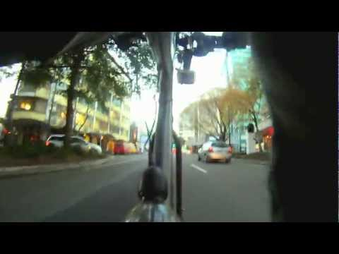 Petone to Wellington CBD - Seat-post camera