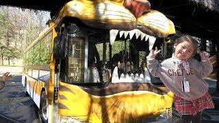 에버랜드를 다녀왔어요!! 서은이의 에버랜드 사파리 놀이기구 호랑이 버스 사자 곰 Amusement Park