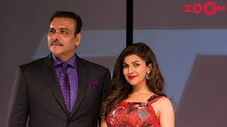 Nimrat Kaur Is Dating Indian Cricket Team Coach Ravi Shastri? | Bollywood News