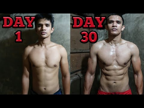 30 DAYS BODY TRANSFORMATION Home Workout / Calisthenics (BODYWEIGHT ONLY) | MarkCastilloWORKOUT����