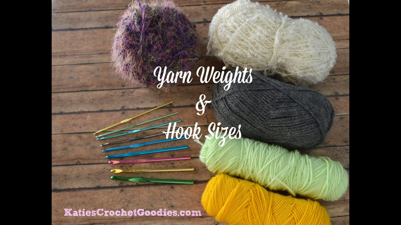 Yarn Weights Crochet Hooks Learn To Crochet Video 2 Youtube