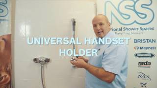 How To: Fit a universal shower head holder