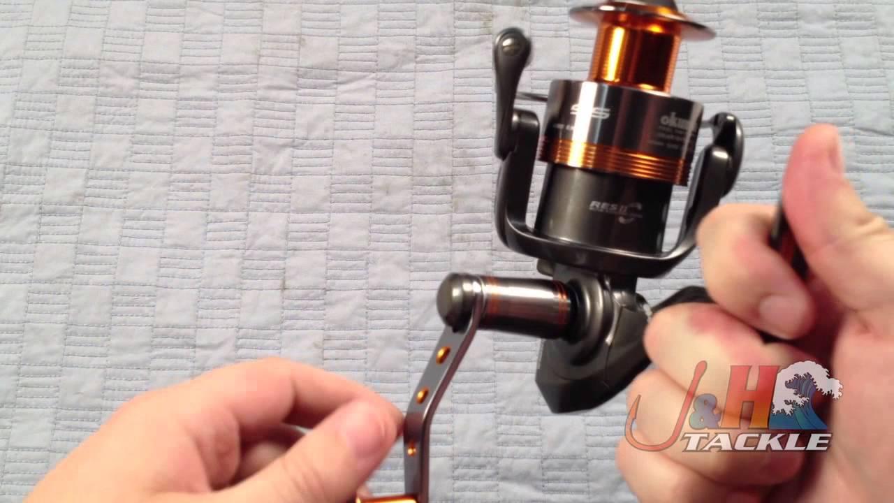 Review: Okuma Raw II Spinning Reels | J&H Tackle Fishing Blog