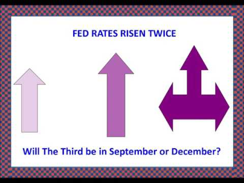 Fed Rates rise means no more rises until December 2017