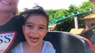 Vlog no Parque de Diversão Beto Carrero Parte 1 - Laurinha !
