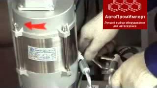 F6106 Ножничный подъемник г/п 3т - демонстрация работы(«АвтоПромИмпорт» - отечественная компания, занимающаяся реализацией специализированного оборудования..., 2013-09-12T11:16:38.000Z)