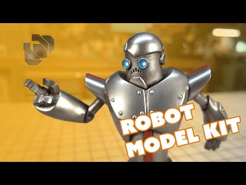Sir Botsalot Robot Model Kit Painting Tutorial