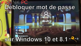 windows 10 8.1 probleme de session ou mot de passe oublié une solution
