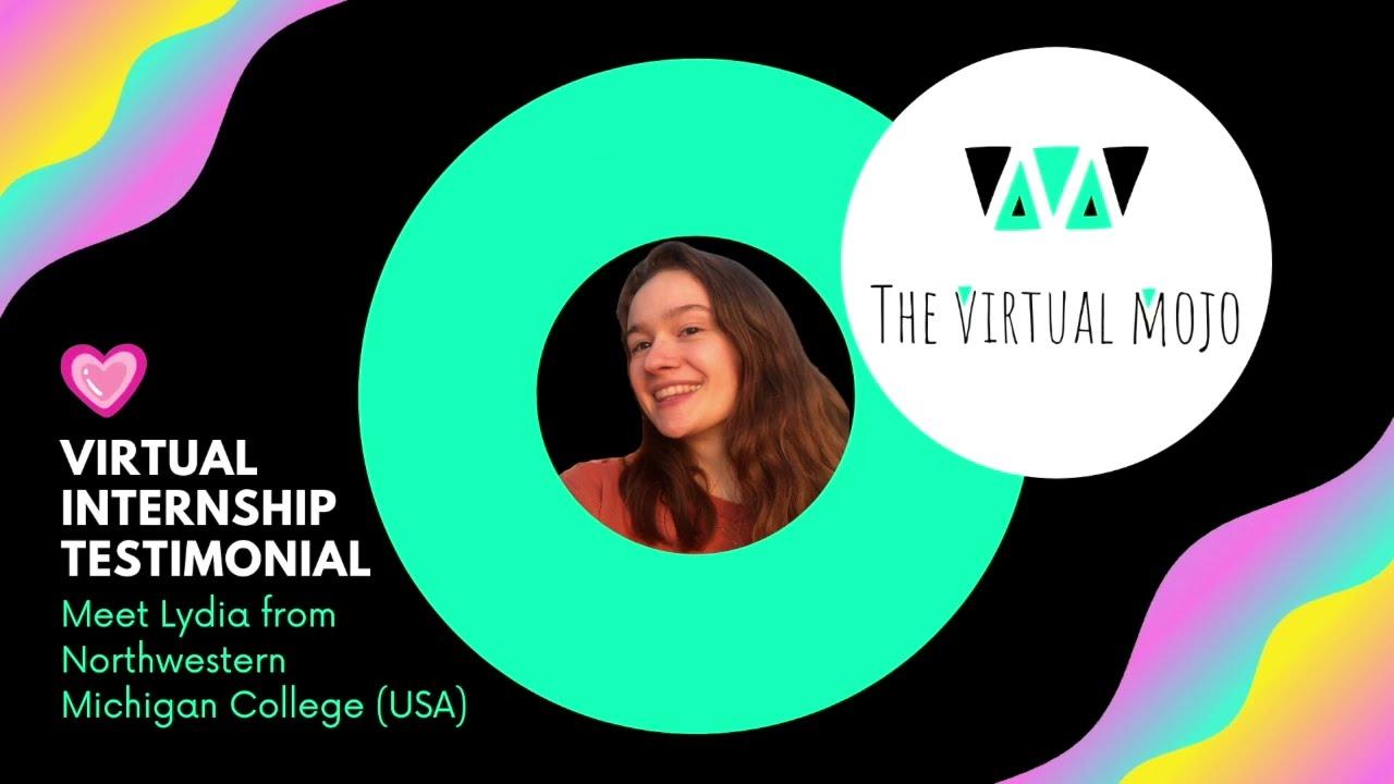 Lydia's Virtual Internship Experience