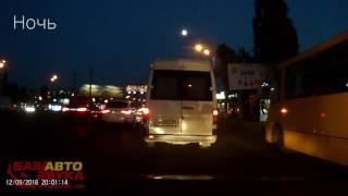 Видеорегистратор Prestigio Roadrunner 330. Тест записи днем и ночью