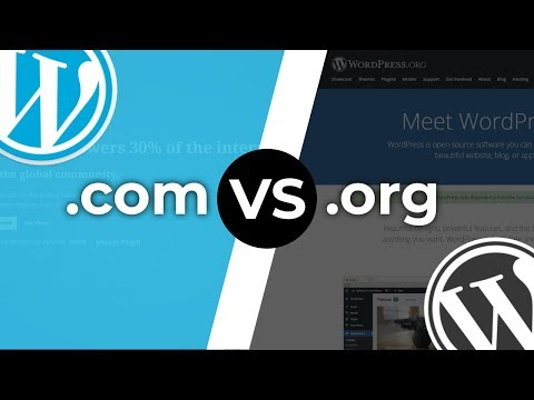 WordPress.com Vs WordPress.org: Which One You Should Use For A Website