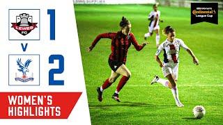 Palace Women score a dramatic late cup winner   Match Highlights