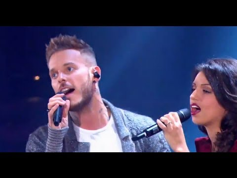 Matt Pokora et Tal chantent Envole-moi en live (Les Années Bonheur)
