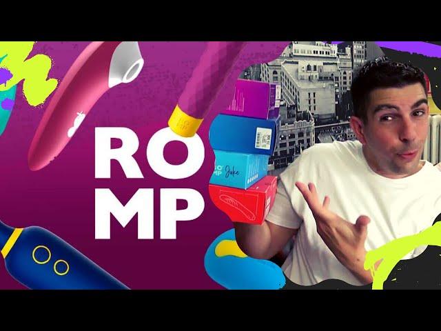 ROMP : La nouvelle marque de jouets pour adultes FUN & COLORÉS à petits prix de WOW TECH !