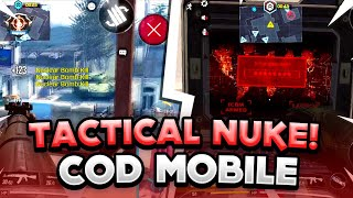 TACTICAL NUKE IN COD MOBILE! First Ak-47 Tactical Nuke Gameplay! (Cloud9 Pro)