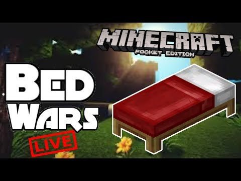 🔴Minecraft PE | Bedwars And Skywars! | #RoadTo300
