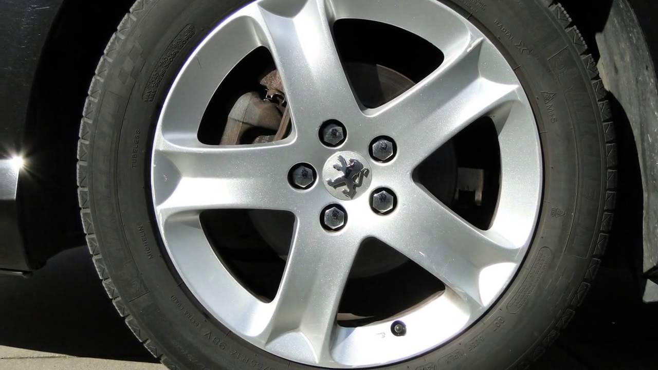Peugeot 407 Sw 20 Hdif Xs Glazen Dak17velgen Youtube