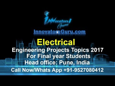 Most Challenging Top 10 Electrical Engineering (EEE) Projects part 3