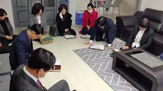 박진우교육목사님입택예배