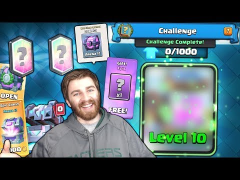 ANOTHER NEW BIG UPGRADE & LAST CHANCE CHALLENGE WIN!   Clash Royale GET HYPED FOR NEW UPDATE!