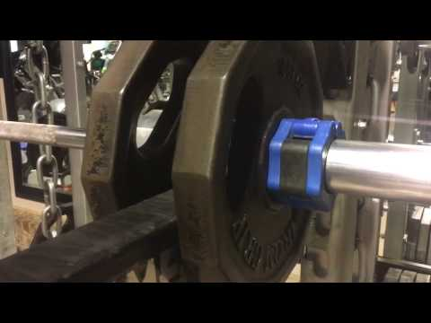 Viking Press Set-Up in Squat Rack