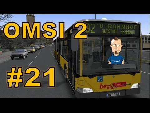 Let's play OMSI 2: Der Omnibussimulator #21 - Rache ist Blutwurst (Gothenberg)