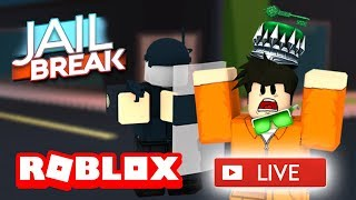 😃 ROBLOX JAILBREAK LIVE STREAM! 😃 | ROAD TO 5K SUBSCRIBERS!! | ROBLOX Live 🔴