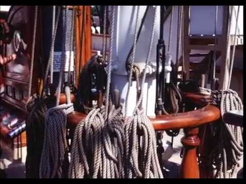 Mystic Seaport, Connecticut, a 19th Century Whaling Port, 1971 From 16mm