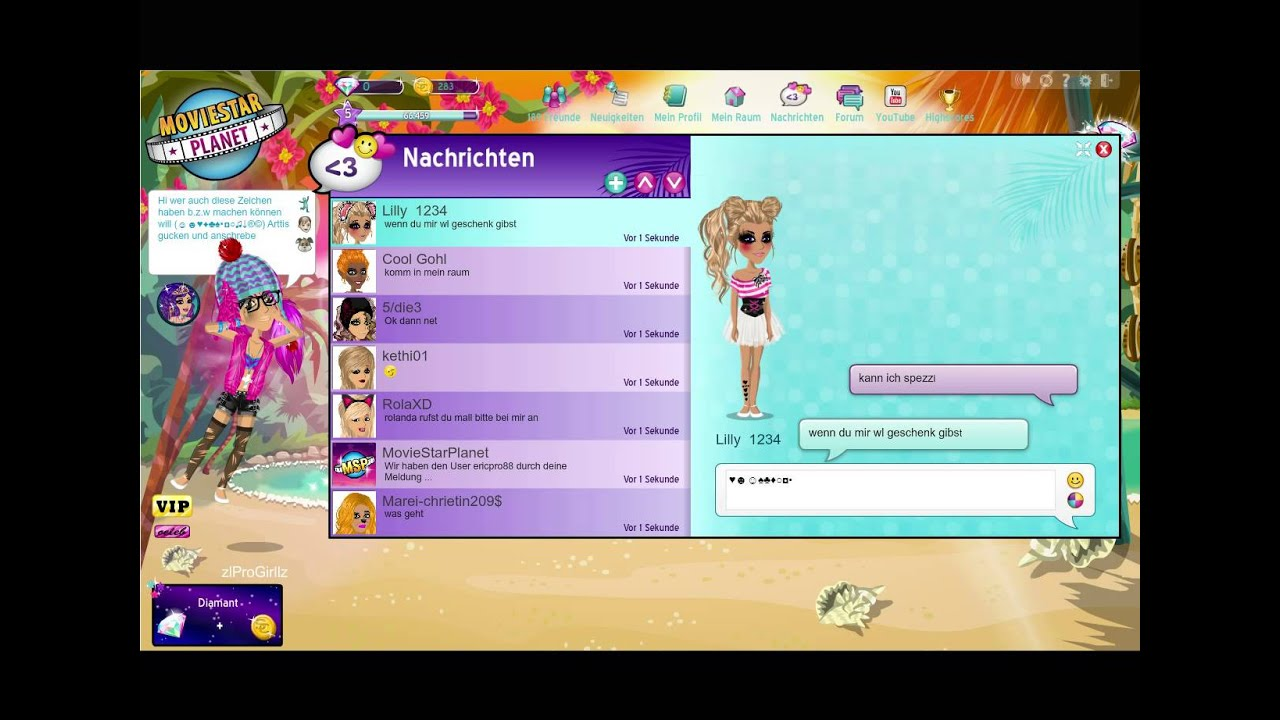 Moviestarplanet De Deutsch