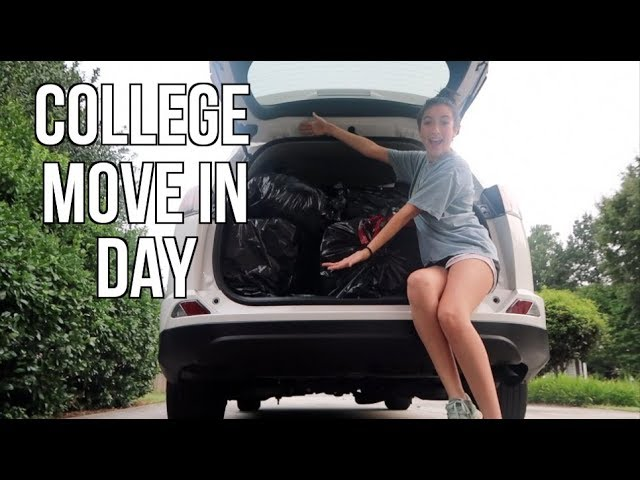 COLLEGE MOVE IN VLOG (freshman)