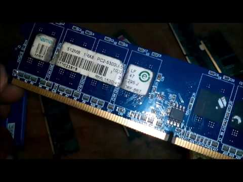 How to Repair RAM, Computer RAM (RANDOM ACCESS MEMORY) in HINDI