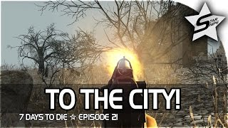7 days to die xbox one gameplay part 21 to the central city cop zombie