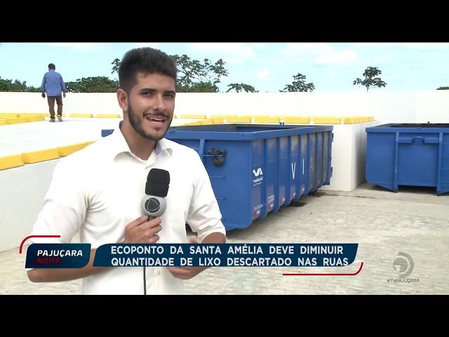 Ecoponto da Santa Amélia deve diminuir quantidade de lixo descartado nas ruas