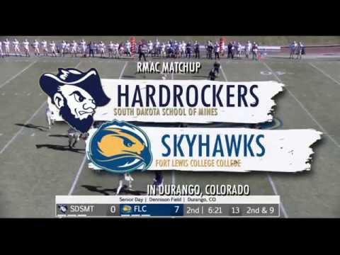Hardrocker Football Highights At Fort Lewis College 11.16.2019