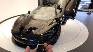 2014 McLaren P1 Walk Around & Interior! 1080p HD thumbnail