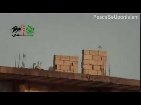 Syrian Army MiG Shot Down   FSA Lattakia   9K38 IGLA Anti Air