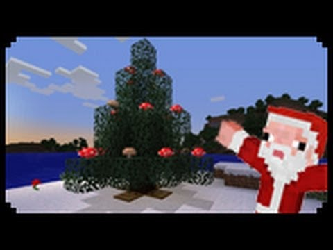 minecraft how to make a christmas tree - A Christmas Tree