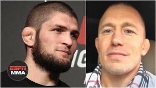 Georges St-Pierre talks interest in Khabib Nurmagomedov fight | ESPN MMA thumbnail