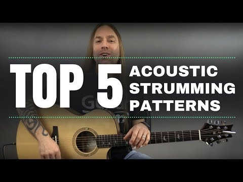 Top 5 Acoustic Strumming Patterns  Steve Stine  Guitarzoom