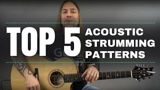 top 5 acoustic strumming patterns by steve stine guitarzoom
