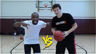 CRAZIEST 1V1 BASKETBALL CASHNASTY VS JESSERTHELAZER