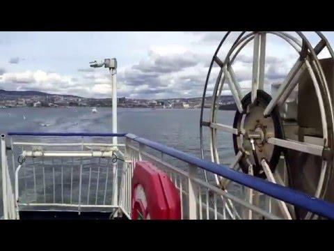 DFDS OSLO TO COPENHAGEN FERRY